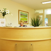 Argyll House reception desk